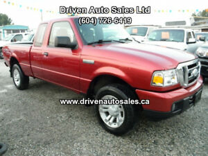 2007 Ford Ranger Auto Leather V6 Quad Cab 4x4 Pickup Truck