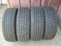 For sale Like New Set of 4 Winter Tires 205/60R15