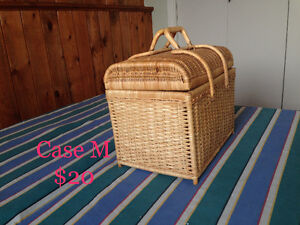 Various Wicker Baskets &a Cases #3