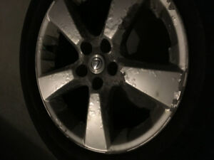 """Michelin  winter tire, 235/55/r18 , mounted on  Lexus OEM 18""""rim"""
