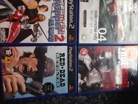 Ps2 games £2 gor 3 for £5