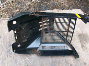 polaris 400 front bumper guard skid plate shield