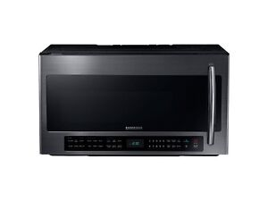 Samsung Over The Range Microwave Black Stainless Steel - ME21