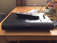 Sky box 2 terabyte HD 3D and sky q hub