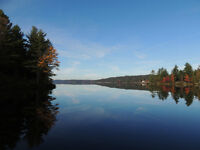 Lakefront Cottage for Rent on beautiful Kennebec Lake