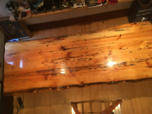 Live Edge Slab Dining Table/ Conference Table