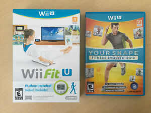Wii U Your shape fitness evolved & Wii Fit U