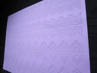 Silicon lace Mat/Molds for cakes - New
