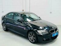 BMW 3 SERIES 320D M SPORT AUTO BLACK 4 DOOR E90 LCI DIESEL 2011 SALOON MSport