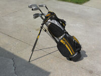 Left Handed Youth Golf Clubs - with Bag