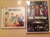 DVD et CD One Direction