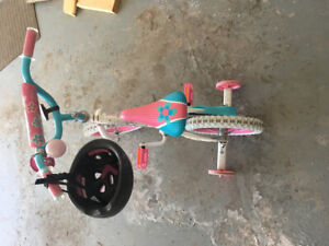 "12""girl bicycle(including  horn  etc.)asking $100"
