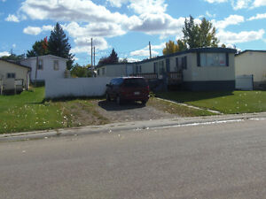 Older Mobile Home In Three Hills