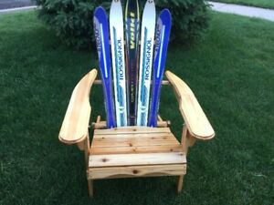 Custom Folding Muskoka Ski Chair