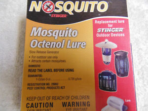 Mosquito Octenol Lures for 'Stinger' Bug Zappers