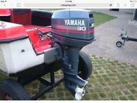 Wanted To Buy: Yamaha 30 hp Outboard Motor 2 Stroke 2 Cylinder