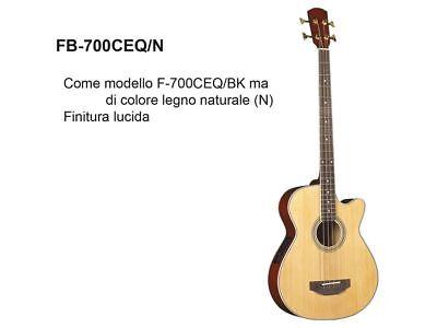 Basso acustico amplificato 4 corde DAM FB700 CE QN