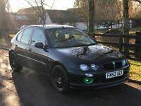 MG/ MGF ZR 1.4 105 + 5 DOOR 12 MONTHS MOT