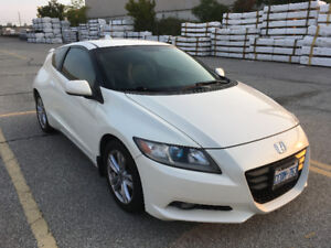 Paddle Shifters on this 2011 Honda CR-Z Coupe -