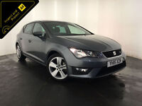 2015 SEAT LEON FR TDI 5 DOOR HATCHBACK 148 BHP 1 OWNER FINANCE PX WELCOME