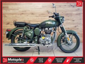 2018 Royal Enfield Classic battle green 25$/semaine