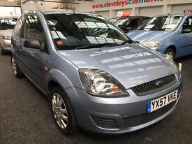2007 FORD FIESTA 1.25 Style [Climate] From GBP2450+Retail package.