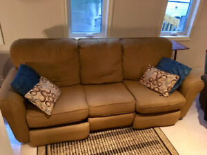 Reclining Sofa and Chair Combo