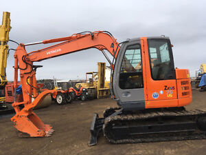 2009  HITACHI Excavator ZAXIS 75 US HYD THUMB ,A/C  2 SPEED
