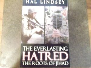 Signed  book  by Hal Lindsey Hatred Jihad