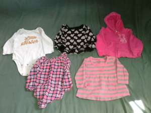 12 Months Girl Clothing