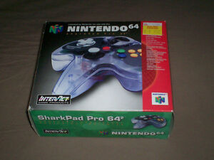 BOXED NINTENDO 64 SHARKPAD PRO CONTROLLER TESTED GREAT SHAPE West Island Greater Montréal image 1