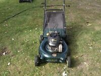 """Yardworks Lawnmower 20"""" Mulch and Mow with Bag"""