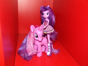 My Little Pony Twilight Sparkle Equestria Girls Doll and Pony