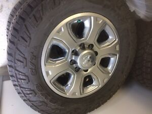 "Dodge Ram 3500 set.  20"".  Toyo Open Country CTs Prince George British Columbia image 1"