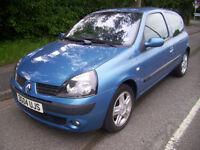 2004 (04 Reg) Renault Clio 1.2 16v ( a/c ) Dynamique