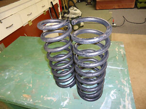 mustang11 front coil springs
