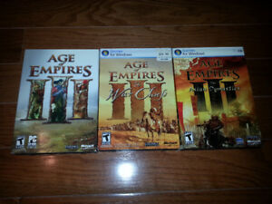 Age of Empires III + The War Chiefs + The Asian Dynasties for PC