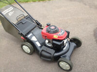 Good Quality LAWNMOWER 5.5 H.P. (HONDA) power propelled 21""