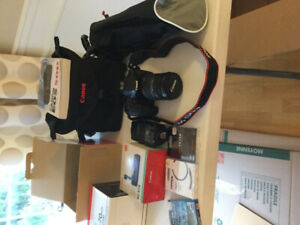 Canon EOS 50 D Camera and accessories