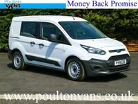 2015 (15) FORD TRANSIT CONNECT 220 L1 SWB 5 SEAT CREW VAN / DOUBLE CAB / COMBI