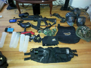 Paintball gear for sale 200 or best offer