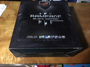 Rampage III Black Edition Motherboard for Sale!