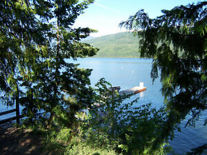 N.SHUSWAP RESORT - Lakefront, nice large condos & great fishing!