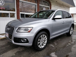 2016 Audi Q5 Quattro, Navigation, Heated Seats, 62,000km $30,995