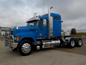 2014 MACK CXU613 - $97,888.00-RAWHIDE-MDRIVE AUTOMATIC-MINT!