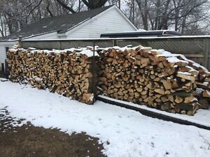 Split fire wood 80$ a face cord delivered on the east side  London Ontario image 1