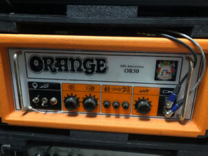 Amplificateur Orange OR50 40th anniversary
