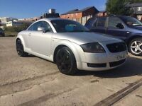 Audi TT 225 Bhp 4 wheel drive dbadged dcated mint condition fsh 1795
