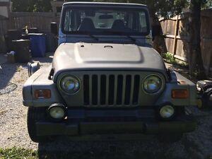 2001 jeep TJ $2000