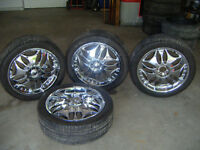 Very nice set of 20 inch Rims